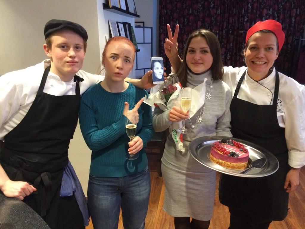 Både vårt serverings- och kökslag har gått vidare till finalen i Gymnasie-SM